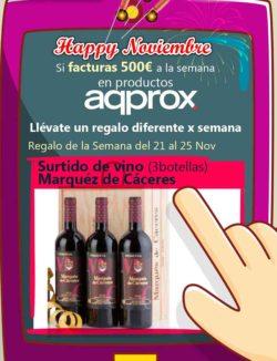 promocion aqprox marques de caceres en desyman