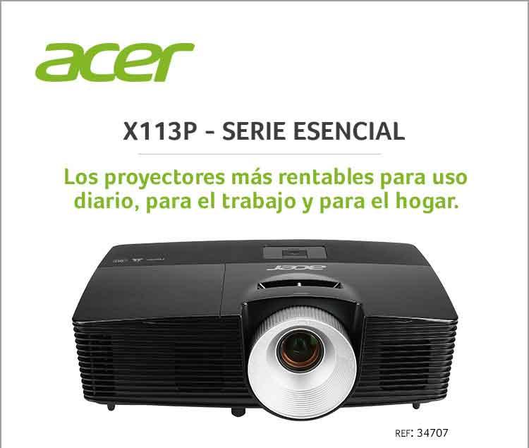 comprar proyector acer X113P