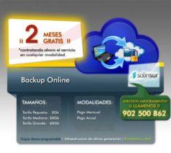 backup online de solinsur