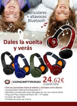 comprar altavoces conceptronic bluetooth