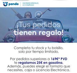 En Panda regalamos 25€ en gasolina