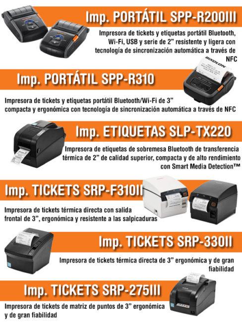 bixolon nueva gama de impresoras portatiles en ELSI