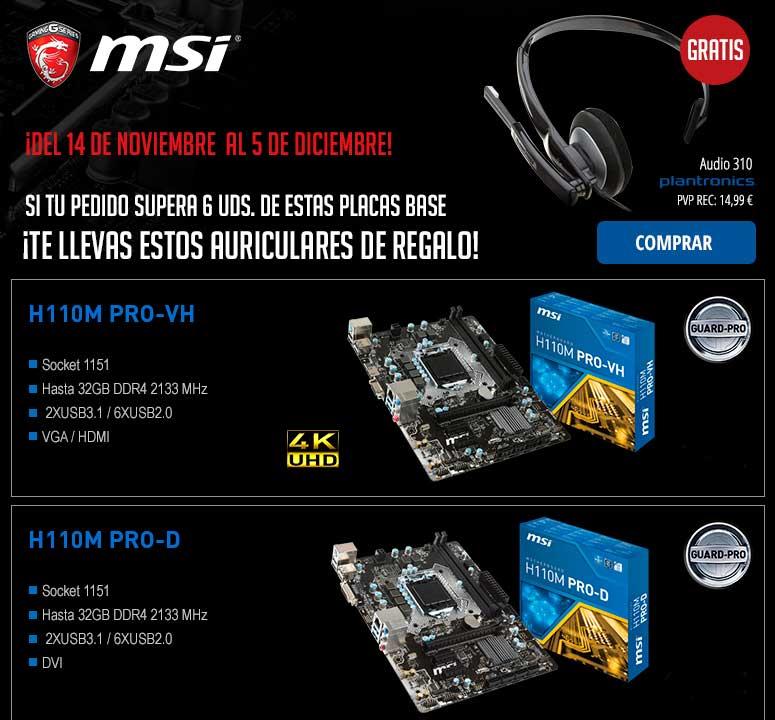 comprar placa base MSI