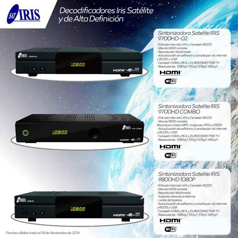 comprar satelite iris