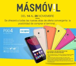 oferta masmovil con alcatel