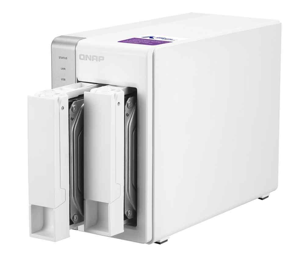 QNAP lanza la nueva serie TS-x31P de NAS asequibles para hogares y pequeñas oficinas