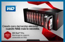 WD Red Pro monta tu red NAS