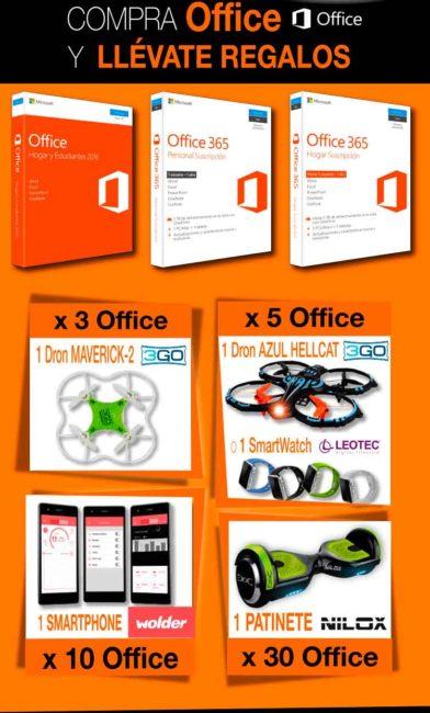 compra Office y llévate regalos