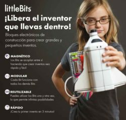 comprar LittleBits bloques modulares