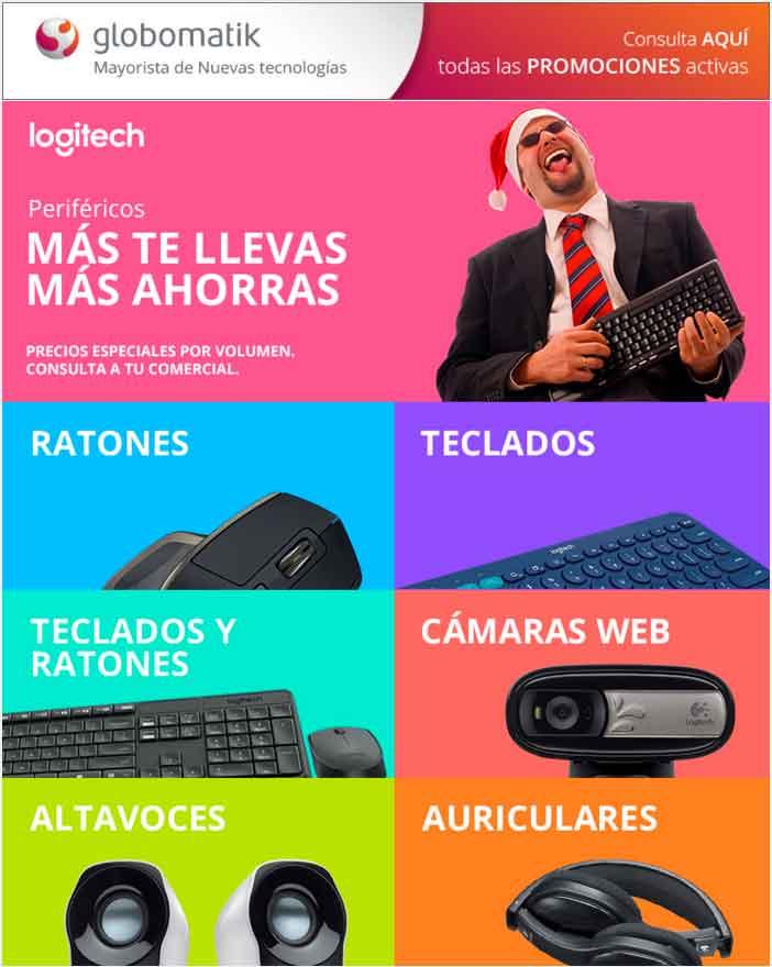 Promocion Perifericos logitech