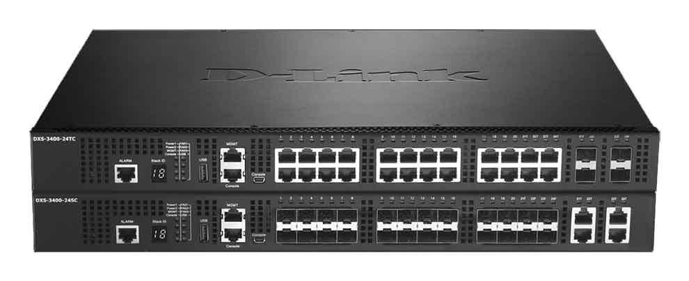 Switches D-Link DXS-3400