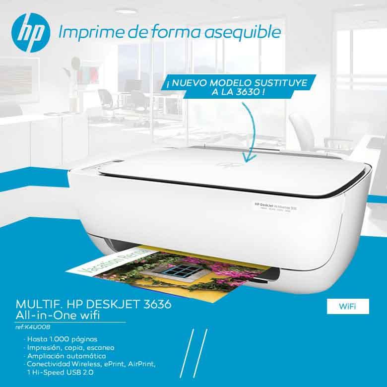 imprime de forma asequible con hp