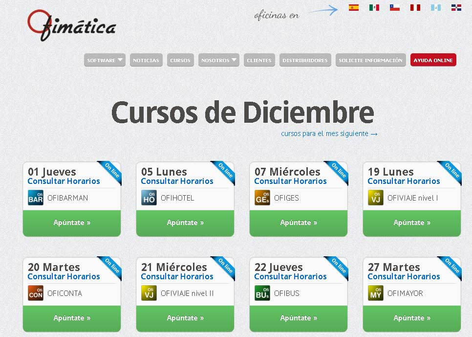 cursos online ofimatica diciembre