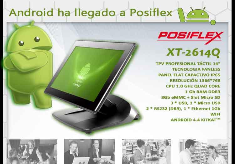 Android ha llegado a Posiflex