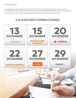 infowork telecom calendario formacion