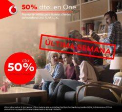 50% dto Vodafone One