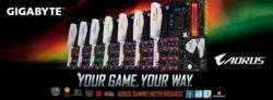 placas base AORUS Gaming de GIGABYTE