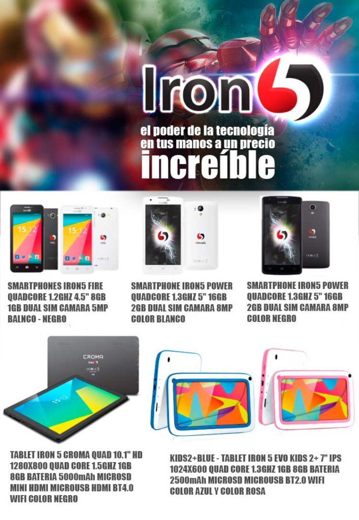 Iron5 smartphone oferta
