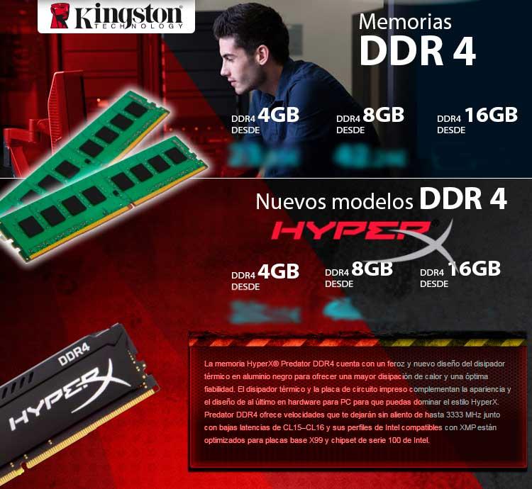 comprar memoria dd4 barata