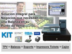 kit balanza y tpv en ELSI Pos Technology