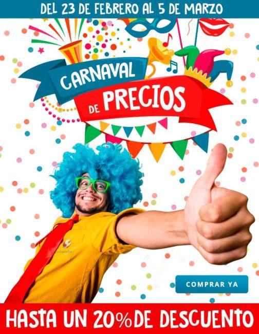 carnaval de precios en globomatik