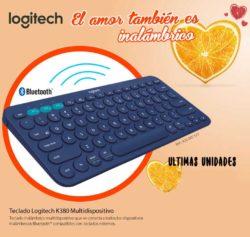 oferta teclado logitech k380