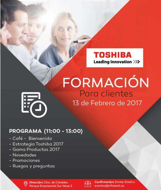 formacion toshiba en infowork