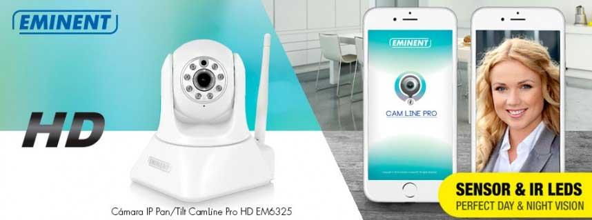 Eminent: Cámara IP Pan/Tilt CamLine Pro HD