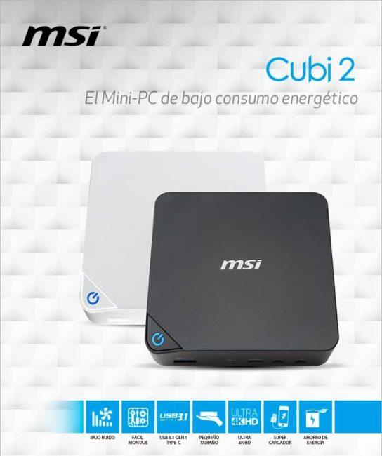 MSI Cubi 2 el mini pc de bajo consumo en dealermarket