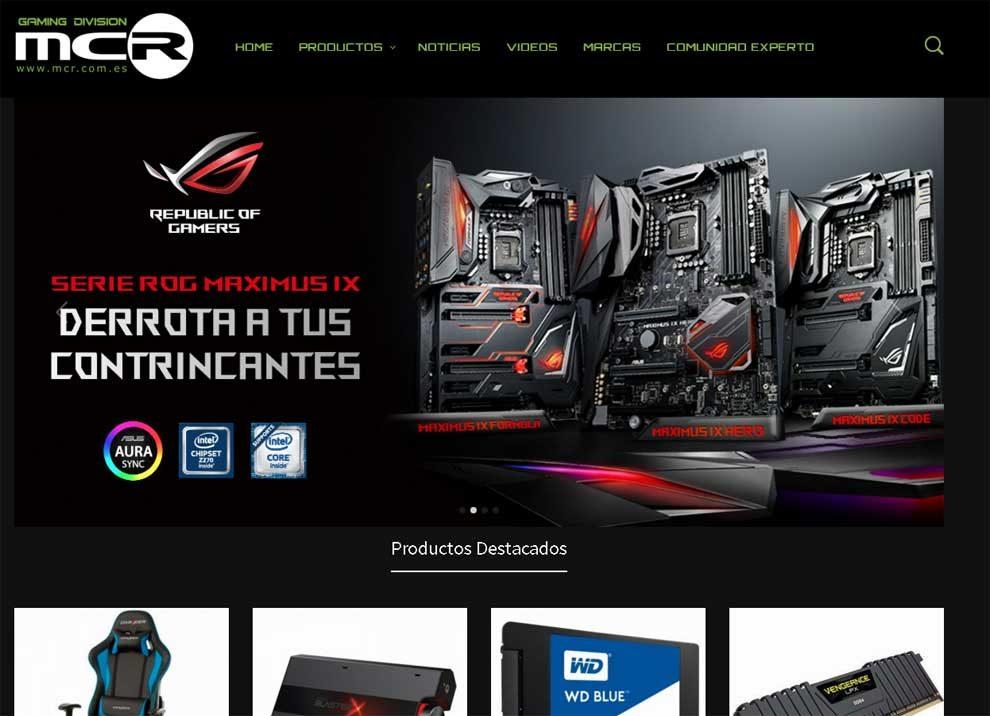 Nueva division Gaming en MCR