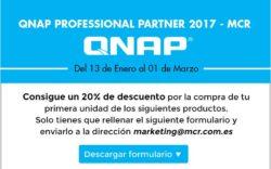 QNAP Aplicación de descuento especial: 20% sobre precio original del distribuidor
