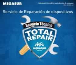 servicio total repair en megasur