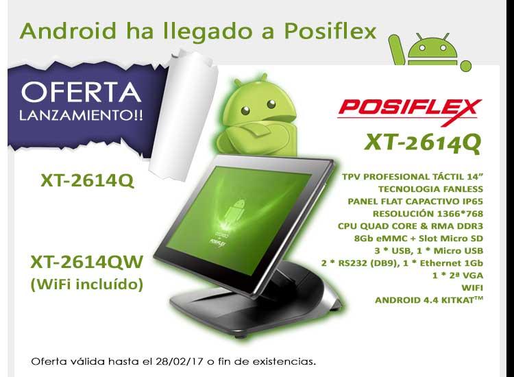 Oferta lanzamiento TPV Posiflex XT-2614Q