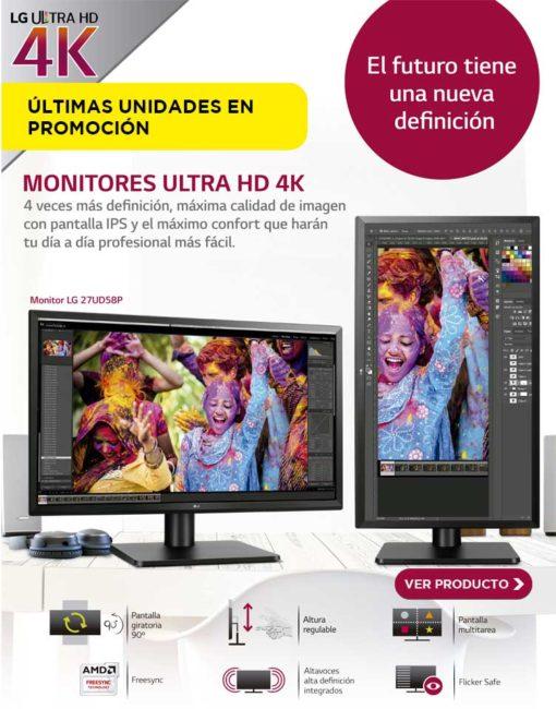 comprar monitor LG 4K