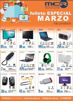 MCR top products marzo 2017