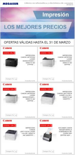 promo canon printer