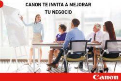 canon te invita a mejorar tu negocio