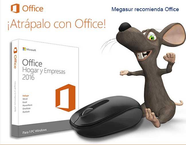 Office 2016 hogar y empresas caja 1 PC