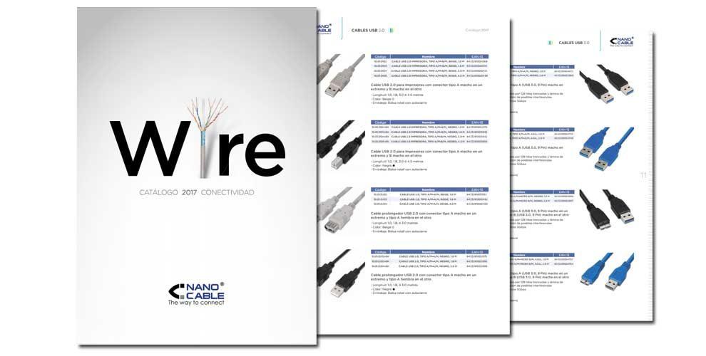 Portada catálogo Nanocable