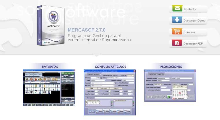 Programa de Gestión para el control integral de Supermercados