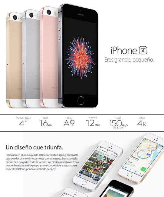 comprar iPhone SE