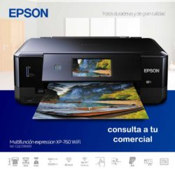 MULTIFUNCION EPSON EXPRESSION XP-760 WIFI