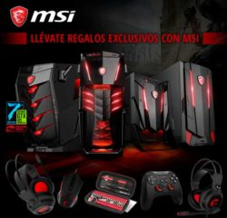 regalos exclusivos con MSI