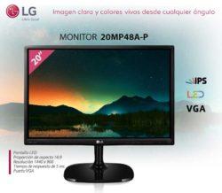 "comprar monitor LG 20"""