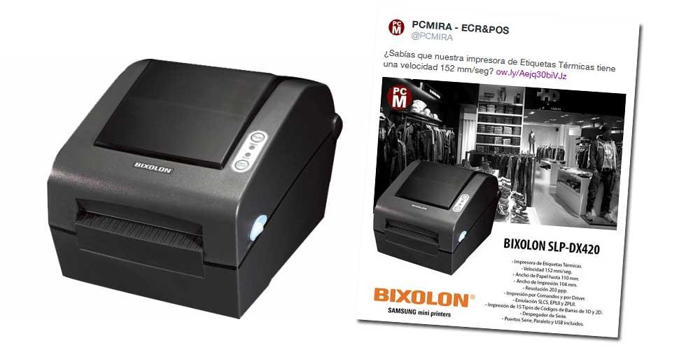 impresora etiquetas termica