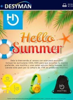 promo hello summer con hiditec