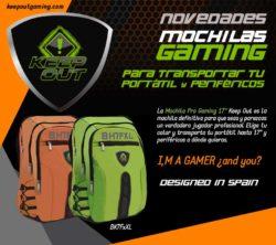 comprar mochilas gaming