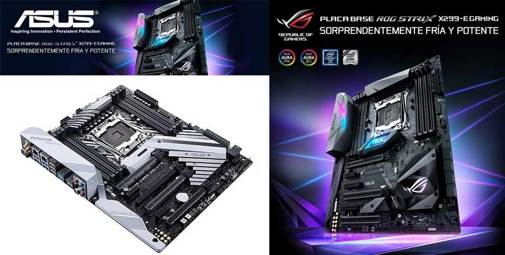 precio placa base chipset x299