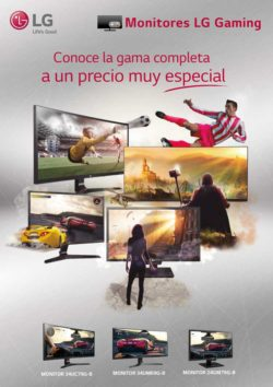 monitores gaming a precio muy especial