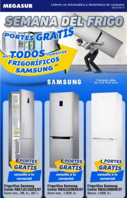 ofertas frigorificos samsung